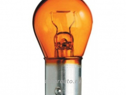 PY21W CA-RE Halogen Bulb Amber Chrome 12V BAU15S блистер оранж. анти блик