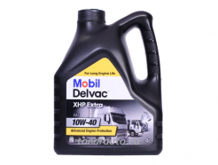 152657 Масло моторное Mobil Delvac XHP Extra SAE 10W40, 4л