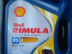 550021628 Масло моторное Shell Rimula R5 E SAE 10W40, 4л