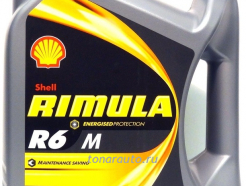 550044890 Масло моторное Shell Rimula R6 M SAE 10W40, 4л