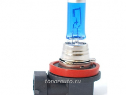 H11 CA-RE Halogen Bulb 12V 55W, PGJ19-1 Crystal White PLUS блистер кристально-белый свет
