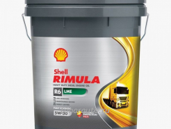 550043092 Масло моторное Shell Rimula R6 LME SAE 5W30, 20л