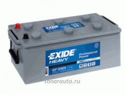 EF2353 Аккумулятор 235Ah / 1300 A / 12V EXIDE HEAVY Professional Power - NEW